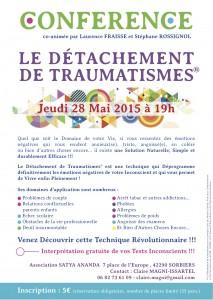 Conférence Saint Etienne (Sorbiers) du 28 mai 2015