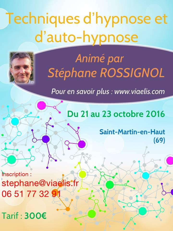 Stage Techniques d'hypnose et d'auto-hypnose - Saint Martin-en-Haut