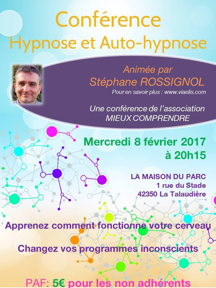 Conférence Hypnose et Auto-Hypnose La Talaudière Association Mieux Comprendre
